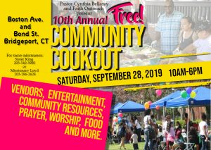 Bridgeport 10th Annual Cookout